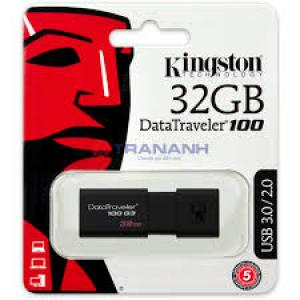 USB 32GB KINGTON DATATRAVELER DT100 G3 3.0