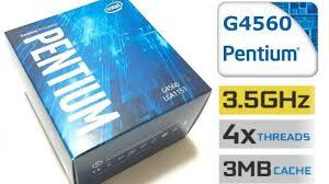 CPU Intel DC G4560 3.5G/3MB/SK1151 Box (Haswell)