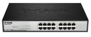Switch Dlink 16P DGS-1016C 10/100/1000